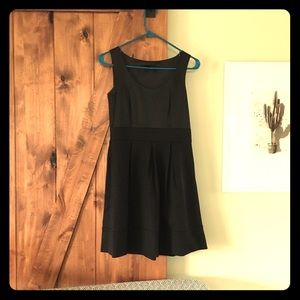 Black a line Theory dress
